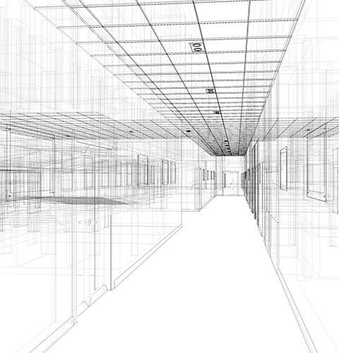 C E & M Inc 3D Rendering